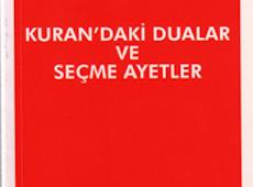 <center><b><h3>Kuran'daki Dualar ve Seçme Ayetler (Cep Boy)</center></b></h3>