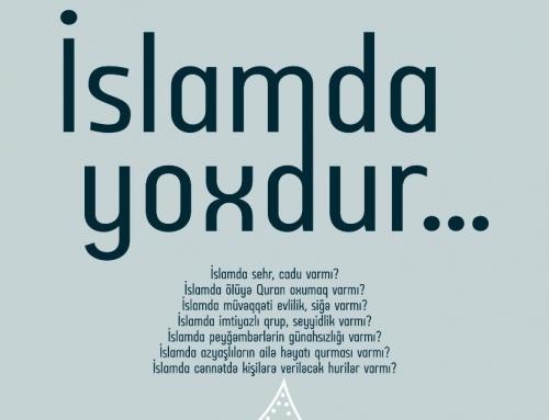 İslam'da Yoxdur