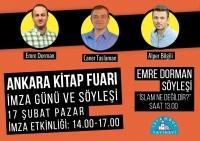 Ankara Kitap Fuarı İmza Günü
