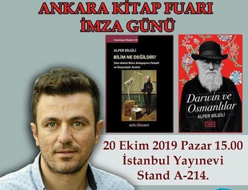Ankara Kitap Fuarı İmza Günü – Alper Bilgili (20 Ekim 2019)